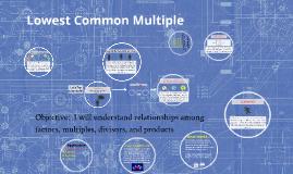 Lowest Common Multiple 1.5