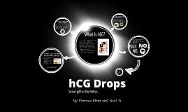 hCG Drops: Some Light on the Matter