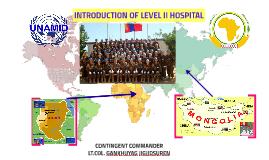 CO of Mongolian level II hospital