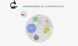 Copy of GENERALIDADES DE LA MICROBIOLOGÍA
