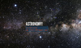 Second Lesson - Project ASTRO