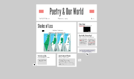 Poetry & Our World