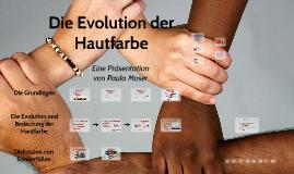 Die Evolution der Hautfarbe