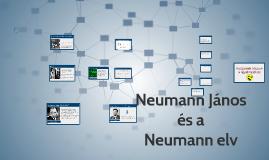 Neumann János (elvek)
