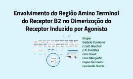 Envolvimento da Região Amino Terminal do Receptor B2 na Dimerização do Receptor Induzida por Agonista