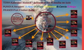 TEMA:Kalendari historik i vullkaneve me te medha ne bote