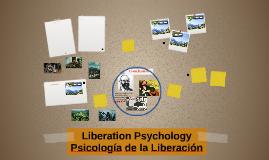 Liberation Psychology Psicología de la Liberación