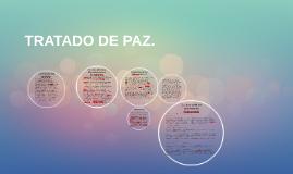 TRATADO DE PAZ.