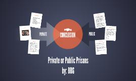 Private or Public Prisons
