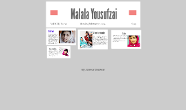 Copy of  Malala Yousufzai