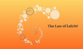 The Law of Laïcité