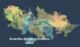Acuerdos de paz: económico social.