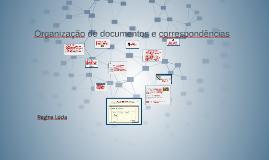 Copy of Organização de documentos e correspondência