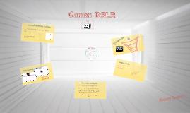 Canon Marketing Analysis
