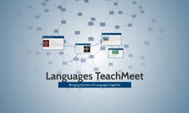 Languages TeachMeet