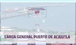 Copy of CARGA GENERAL PUERTO DE ACAJUTLA