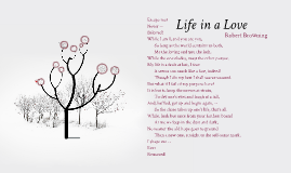 'Life in a Love' by Robert Browning