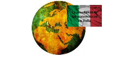Las matematicas en Italia