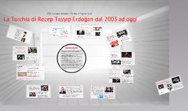 Copy of La Turchia contemporanea e il rapporto con l'Europa - Lezione 1