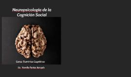 Neuropsicología de la Cognición Social