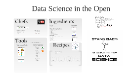 Data Science in the Open