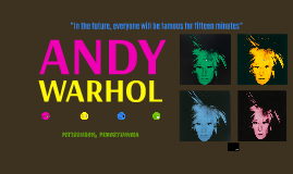Copy of ANDY WARHOL
