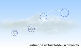 evaluacion ambiental de un proyecto