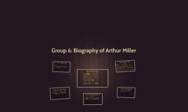 Group 6: Biography of Arthur Miller