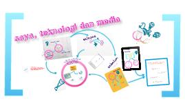 saya, teknologi dan media