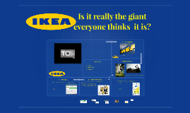 IKEa – IS it really the giant most think  it is?