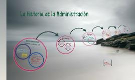 Historia de la administración