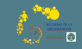 RECURSOS DE LA ORGANIZACION