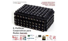 Políticas Corporativas nas redes sociais - Aula 2