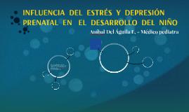 INFLUENCIA  DEL  ESTRÉS  Y  DEPRESIÓN  PRENATAL  EN   EL  DE