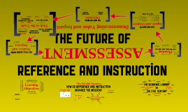 The Future of Reference and Instruction (and Assessment)