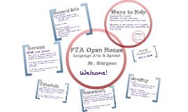 PTA Open House