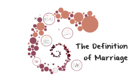 Copy of The Definiton of Marriage