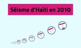 Séisme d'Haïti en 2010