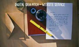 Digital Pitch - Service
