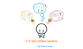 2, 0, and 1 Solution Equations