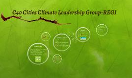 C40 Cities Climate Leadership Group-REGI