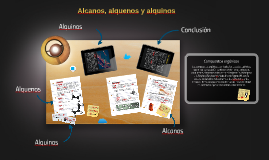 Alcanos, alquenos y alquinos