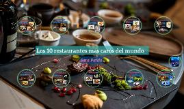 Los 10 restaurantes mas caros del mundo