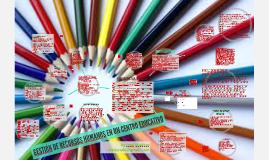 Copia de GESTIÓN DE RECURSOS CENTRO EDUCATIVO