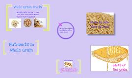 Nutrients in Whole Grain