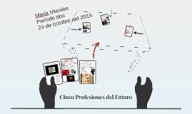 Cinco Profesiones del Futuro