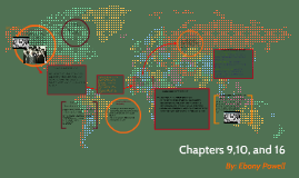 Chapters 9,10, and 16