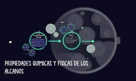 PROPIEDADES FISICAS DE LOS ALCANOS