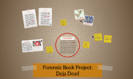 Forensic Book Project: