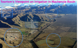 Tourism's Viewpoint on Irrigation in Mackenzie Basin